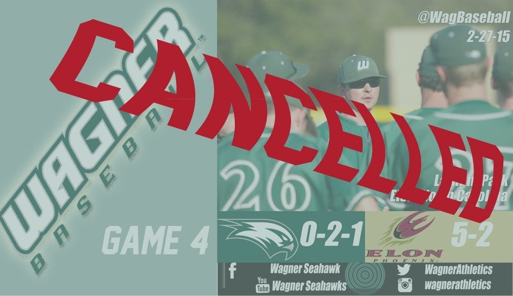 baseball cancellation