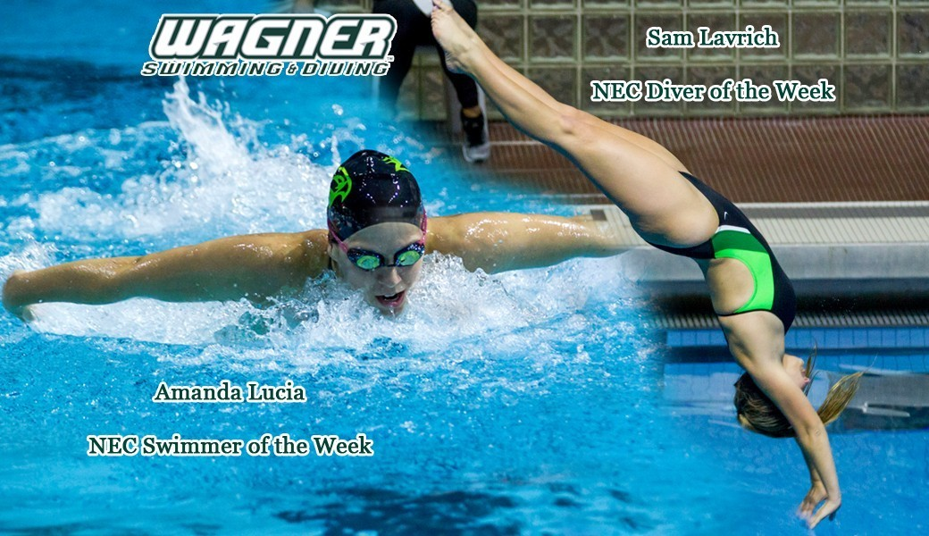 lucia and lavrich swimmer diver of the week